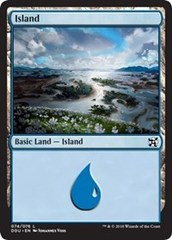 Island (74) on Channel Fireball