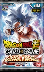 DBS Colossal Warfare Booster Pack - Series 4