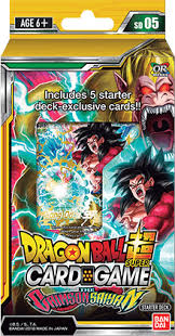 Dragon Ball Super - Starter Deck 5 - The CRIMSON SAIYAN