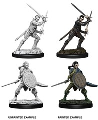 Pathfinder Battles Unpainted Minis - Female Elf Fighter