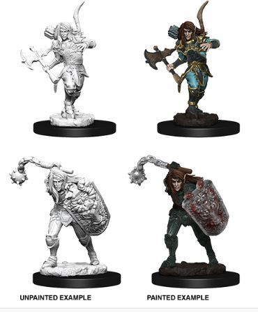 Pathfinder Battles Unpainted Minis - Male Elf Fighter