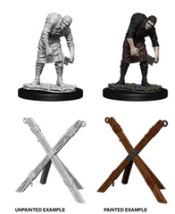 Wizkids Unpainted Minis - Wave 6 - Assistant & Torture Cross