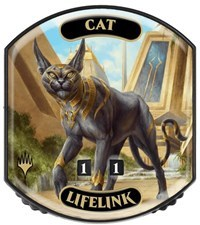 Ultra Pro - Relic Tokens: Eternal Collection - Cat (Lifelink)