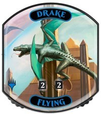 Ultra Pro - Relic Tokens: Eternal Collection - Drake (Flying) - Foil