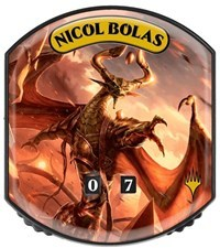 Ultra Pro - Relic Tokens: Eternal Collection - Nicol Bolas - Foil