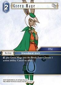 Green Mage - 5-137C - C