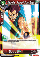Vegeta, Powerful as Ever - P-030 - PR