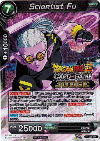 Scientist Fu (Judge PR) - P-036 - PR - Dragon Ball Super