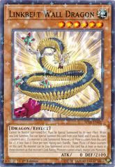 Linkbelt Wall Dragon - SP18-EN027 - Starfoil Rare - 1st Edition