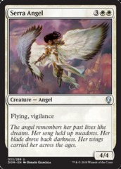 Serra Angel on Channel Fireball