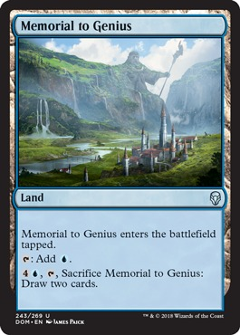 Memorial to Genius - Foil