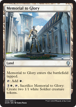 Memorial to Glory - Foil