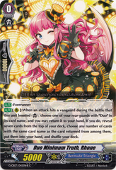 Duo Minimum Truth, Rhone (Black) - G-CB07/045EN-B - C on Channel Fireball