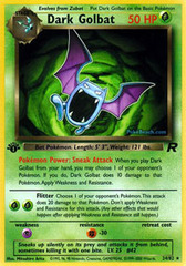Dark Golbat - 24/82 - Rare - 1st Edition