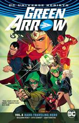 Green Arrow Tp Vol 05 Hard Traveling Hero Rebirth (STL078561)