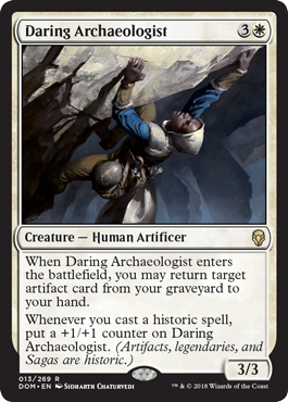 Daring Archaeologist - Foil