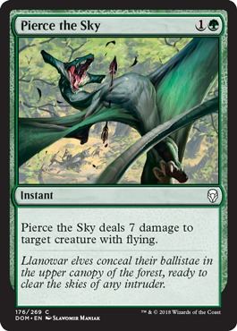 Pierce the Sky - Foil