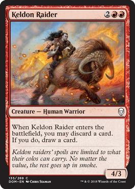 Keldon Raider - Foil