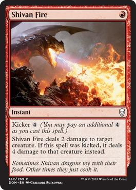 Shivan Fire - Foil
