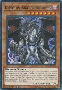 Diabolos, King of the Abyss - SR06-EN004 - Common - 1st Edition