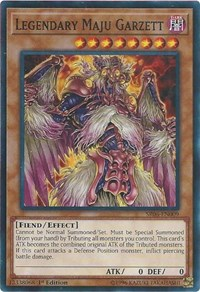 Legendary Maju Garzett - SR06-EN009 - Common - 1st Edition