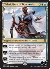 Teferi, Hero of Dominaria (Dominaria Prerelease Foil)