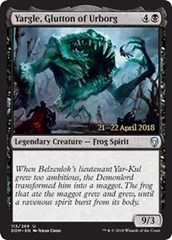 Yargle, Glutton of Urborg - Foil - Prerelease Promo