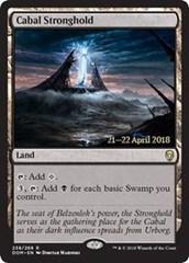 Cabal Stronghold - Foil