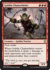 Goblin Chainwhirler - Foil - Prerelease Promo
