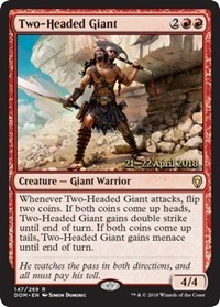 Two-Headed Giant - Foil - Prerelease Promo