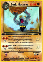Dark Machoke - 40/82 - Uncommon - 1st Edition