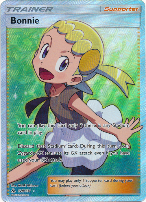 Bonnie - 128/131 - Full Art Ultra Rare