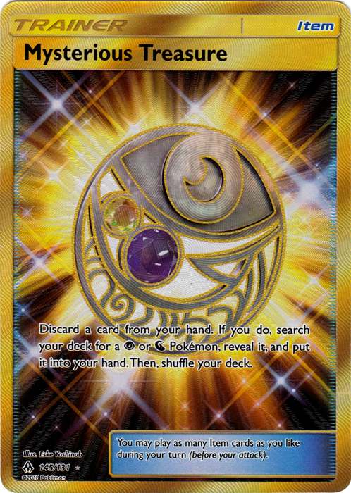 Mysterious Treasure - 145/131 - Secret Rare