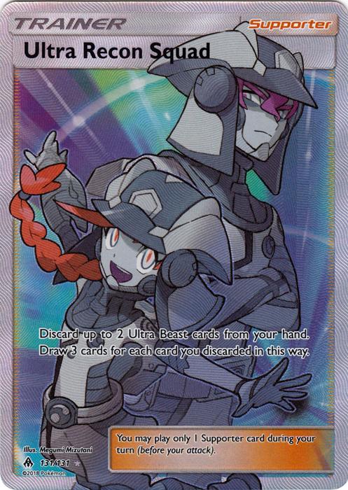Ultra Recon Squad 131 131 Full Art Ultra Rare Pokemon Singles