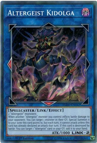 Altergeist Kidolga - FLOD-EN042 - Common - 1st Edition