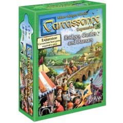 Carcassonne: Expansion 8 - Bridges, Castels &  Bazaars (2018)