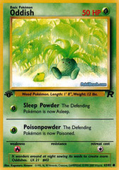Oddish - 63/82 - Common - 1st Edition