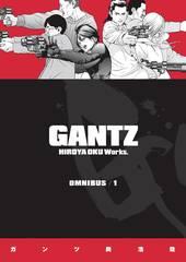 Gantz Omnibus Trade Paperback Vol 01 (Mature Readers)