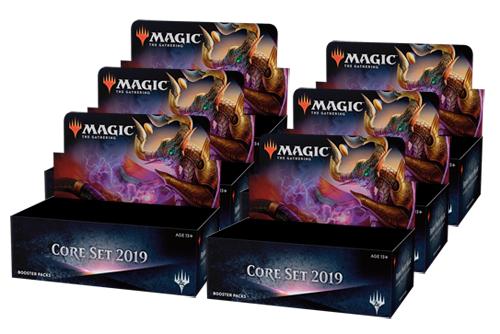 Core Set 2019 Booster Case (6 boxes)