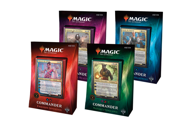 Commander 2018: Set of 4