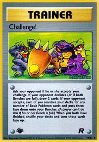 Challenge! - 74/82 - Uncommon - 1st Edition