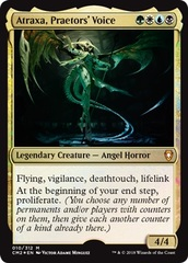 Atraxa, Praetors' Voice - Foil on Channel Fireball