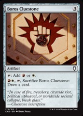 Boros Cluestone on Channel Fireball