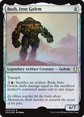 Bosh, Iron Golem - Foil on Channel Fireball