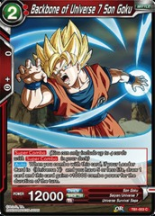 Backbone of Universe 7 Son Goku - TB1-003 - C on Channel Fireball