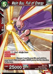 Majin Buu, Full of Energy - TB1-006 - R