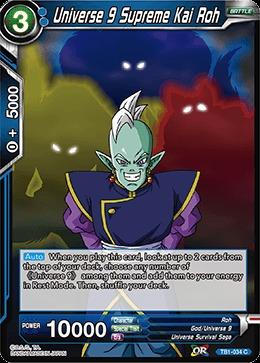 Universe 9 Supreme Kai Roh (Foil) - TB1-034 - C