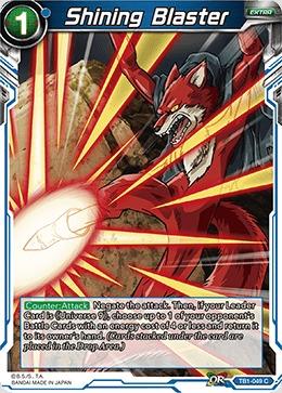 Shining Blaster (Foil) - TB1-049 - C