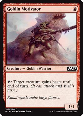 Goblin Motivator - Foil