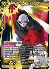 Absolute Justice Jiren - TB1-081 - SR on Channel Fireball
